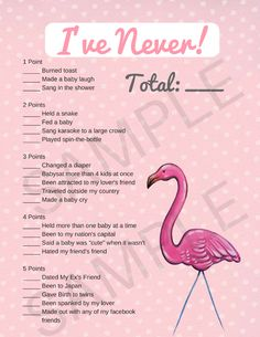 Flamingo baby shower games that you can print! These printable flamingo baby shower games also come with bonuses and banners, perfect for your baby shower! flamingo baby shower ideas | flamingo baby shower theme | Printable baby shower games