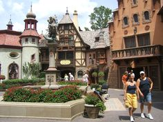 The Germany Pavilion is part of the World Showcase within Epcot at Walt Disney World Resort in Orlando, Florida.