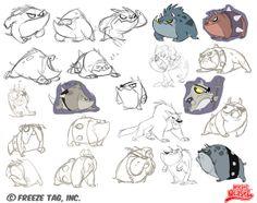 Rocket Weasel by Danielle Brown, via Behance