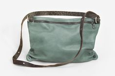 Browse Mint and more from INA KENT at Wolf & Badger - the leading destination for independent designer fashion, jewellery and homewares. Hip Bag, Leather Bags Handmade, Rind, Handbags Online, Vegetable Tanned Leather, Cow Leather, Smooth Leather, Purses And Bags, Diaper Bag