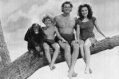 Tarzan, Jane, Boy, and Cheetah - Saturdays at the movies
