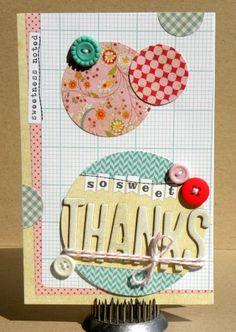 Thank you card @Elles Studio