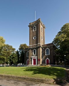 The parish church of St Mary Magdalene, Woolwich, 1727-39. Photograph by Derek Kendall, 2009 (c) English Heritage