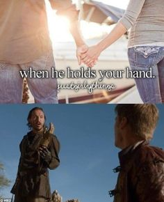 I knocked you on your ass with your own hand ~ Jaime Lannister and Bronn ~ Game of Thrones LMAO!