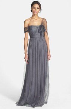 Jenny Yoo 'Annabelle' Convertible Tulle Column Dress | Nordstrom