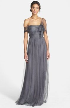 Jenny Yoo 'Annabelle' Convertible Tulle Column Dress | Nordstrom