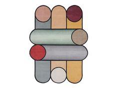 Handmade rug ROTAZIONI B by cc-tapis