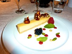 Cheesecake Dessert onboard #LuxuryYacht THIS IS US www.njcharters.com #DestinationConfidential