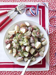 Light and Creamy Potato Salad