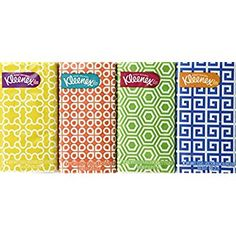 Amazon.com: Kimberly-clark Corp 11975 Kleenex White Facial Tissue (Pack of 16): Health & Personal Care