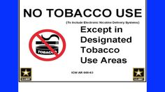 Fort Report Tobacco/Nicotine Free Living Policy