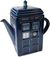 TARDIS teapot!