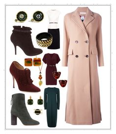 """""""Versatile Coat = Good Investment"""" by dundiddit on Polyvore featuring Ted Baker, Emilio Pucci, Manolo Blahnik, Sergio Rossi, Miss Selfridge, Jaeger, White House Black Market, Roberto Cavalli, Les Néréides and Chanel"""