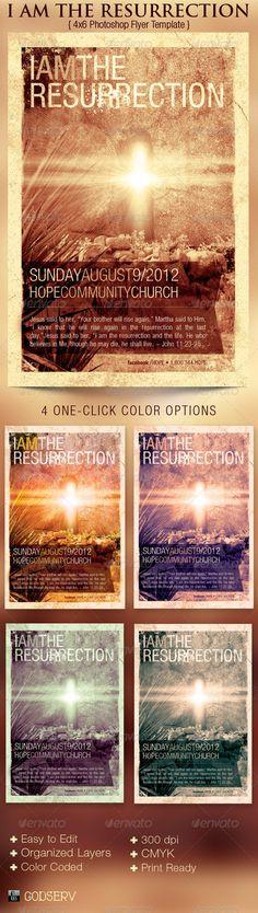 Easter Concert Flyer Template Concert flyer, Flyer template and - church flyer template