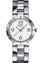 Certina Quartz White Dial Stainless Steel Case With Stainless Steel Bracelet Watch #C009.210.11.032.00 (Women Watch)