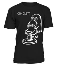 Ghost Black | Teezily | Buy, Create & Sell T-shirts to turn your ideas into reality