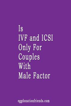 Is ICSI a solution or is this procedure more effective for couples with male factor involved? Watch to get more information about Intracytoplasmic sperm injection. Trying To Get Pregnant, Getting Pregnant, Egg Donation, Fertility, Being Used, Factors, Need To Know, How To Get, Watch