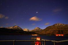 Loch Lomond, Scotland Star Trails, Loch Lomond, British Isles, Planets, Scotland, Northern Lights, Spaces, Travel, Women