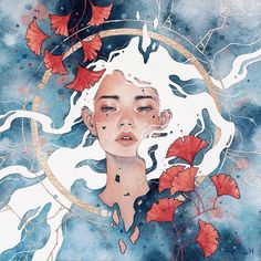 Watercolor Artist Kelogsloops Hieu Nguyen, better known by his alias Kelogsloops, is an Australian watercolor artist. Kelogsloops also makes digital drawings. Art Sketches, Art Drawings, Guache, Wow Art, Surreal Art, Aesthetic Art, Portrait Art, Watercolor Illustration, Illustration Artists