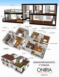 Oniria: Diseño de Minidepartamentos
