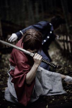 Rurouni Kenshin - Kenshin & Saito  - Cosplay (published by daman on Cure WorldCosplay)