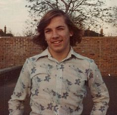 Me circa 1976 with flyaway hair