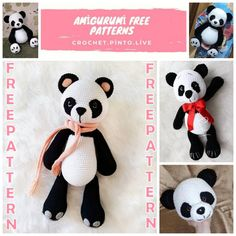 Welcome to our website where you can find the most beautiful and highest quality samples of Amigurumi patterns. Crochet Elephant Pattern Free, Crochet Amigurumi Free Patterns, Crochet Animal Patterns, Stuffed Animal Patterns, Free Crochet, Crochet Ideas, Afghan Crochet, Crochet Animals, Crochet Panda