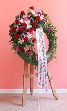 Sympathy Flowers, Funeral, Flower Designs, Ladder Decor, Wreaths, Home Decor, Funeral Flower Arrangements, Floral Arrangements, Crown Cake