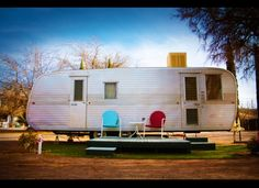 us living in a trailer like this when I was a little girl.  My dad was working in the Texas Panhandle...no apartments, condos, motels to rent back then.  It would be fun to visit this place in Brisbee, AZ