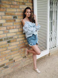 Denim & Stripes | Ana Céline Labod