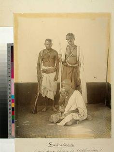 Sakalava warriors, Madagascar, ca.1895 :: International Mission Photography Archive, ca.1860-ca.1960