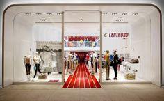 Interior Design Of Centauro Concept Store , A Multi Sports Store