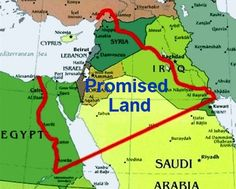 thk: This is the promised land * Google the Greater Israel Map Plan and you