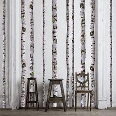 ศิลปะการตกแต่งกำแพง: การนำท่อนไม้ที่ไม่ประโยชน์มาประดับกำแพงห้อง