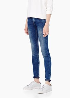 Push-up uptwon jeans - Jeans for Women | MANGO