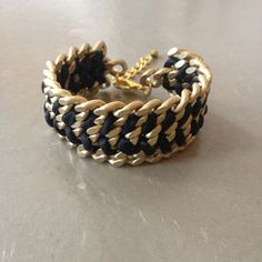 Double Silk Bracelet Black, 30€, now featured on Fab.