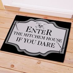 """Check out our great Personalized Halloween Welcome Doormat it comes with free personalization to make it fit your exact needs. The Personalized Halloween Welcome Doormat will look great with the included free personalization and will make your party stand out.  Personalized Floor Mats Choose between two great sizes, 18"""" x 24"""" or 24"""" x 36"""". Both are safe for outdoor or indoor door mat use. Doormat is 1/8"""" fleece smooth with latex action backing and white bound edging.  Customize your very own…"""