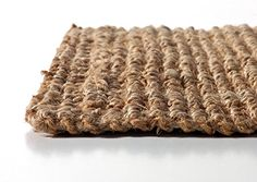 Amazon.com: Iron Gate Handspun Jute Area Rug 3x5 Hand woven by Skilled Artisans, 100% Natural eco-friendly Jute yarns, Thick ribbed construction, Reversible for double the wear, Rug pad recommended: Kitchen & Dining
