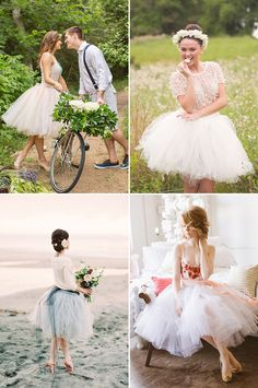 21 Sweet Engagement Outfit Ideas Featuring Short Dresses! Dreamy Ballerina