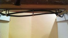 Tame Under-The-Desk Cables with a Broken Three-Ring Binder
