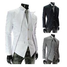 NEW! Men's Trend Setting Lapel Blazer