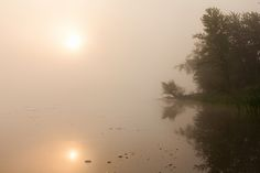 Foggy Morning ♦ Matin brumeux by Lucie Gagnon on 500px  Photographie : Lucie Gagnon  Copyright : Lucie Gagnon