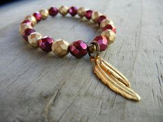 Florida State Seminoles Bracelet; turn my missing earring into this.