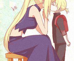 Ino and her little prince  — Chu ~ <3