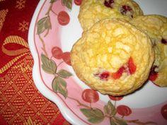 cranberry lemon cake mix cookies