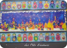 La Russie - lesptitsbricoleurss jimdo page! Projects For Kids, Art Projects, Classe D'art, New Year Art, World Thinking Day, Russian Folk Art, Ecole Art, Matryoshka Doll, Arts Ed