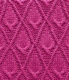 Leaf calla lilies   Cool knitting pattern