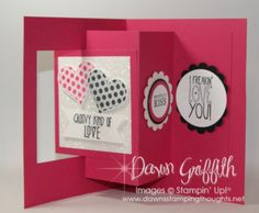 Hi Stampers, Happy Wednesday friends ! Thought I would make a fun card for my honey. Click HERE...
