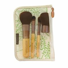 EcoTools Bamboo Brush Set, 5 Piece - 1 set