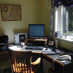 Cómo organizar el espacio de trabajo en casa